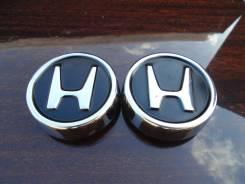 """Пара центральных колпачков на литые диски «Honda». Диаметр Диаметр: 16"""", 2 шт."""
