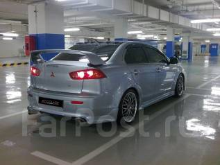 Обвес кузова аэродинамический. Mitsubishi Lancer, CY1A, CY, CY3A Двигатели: 4A92, 4A91, 4B10, 4B11. Под заказ