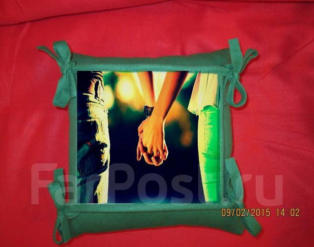 Подарки фотографии на подушках