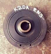Шкив коленвала. Honda Accord, CL7, CL9, CL8 Honda CR-V, RD5, RD4 Honda Stream, RN4, RN5, RN3 Honda Stepwgn, RF4, RF5, RF3, RF6, RF7 Двигатели: K24A, K...