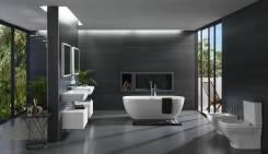 Мебель ванной хабаровске красивые ванные комнаты синие