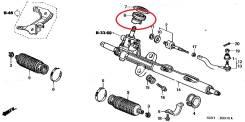 Карданчик рулевой. Honda Odyssey, GH-RA9, RA7, GH-RA8, GH-RA7, GH-RA6, LA-RA8, LA-RA9, LA-RA6, LA-RA7 Двигатель F23A