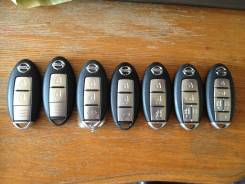 Ключ зажигания. Nissan