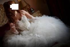 Свадебные платья со шлейфом.