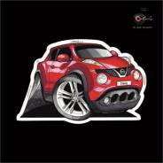 Наклейка. Nissan Juke, YF15, NF15, F15 Двигатели: MR16DDT, HR16DE, HR15DE