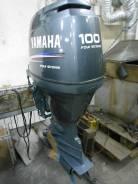 Yamaha. 100,00л.с., 4х тактный, бензин, нога L (508 мм), Год: 2005 год
