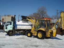 Уборка и вывоз снега, льда. Погрузчики, Самосвалы, Экскаваторы