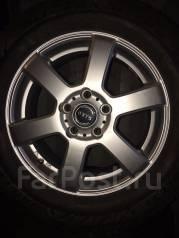 Продам зимние колеса на литых дисках 205/65R16. 6.0x16 5x114.30 ET42