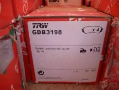 Колодка тормозная. Toyota Land Cruiser