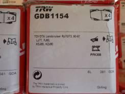 Колодка тормозная. Toyota: Toyoace, Land Cruiser, Dyna, Coaster, Mega Cruiser Двигатели: 15BFT, 1HZ, 1HDT, 3FE, 1FZFE, 1HDFT, 3F, 1FZF, 15BF, 15BFTE