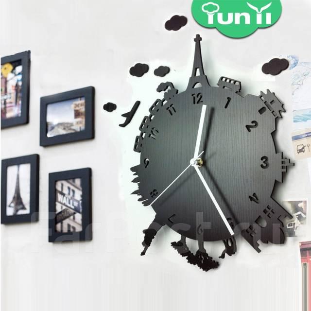 настенные часы с фото на заказ