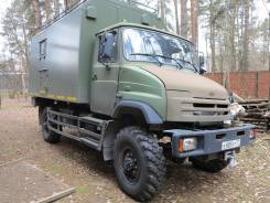 ЗИЛ 4327. Охотник-Рыболов автомобиль высокой проходимости 4x4 с жилым модулем