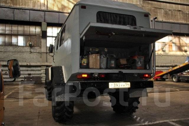 Уникальный автомобиль на базе ГАЗ-3308 «Садко» вызвал восторг у россиян