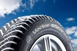 Goodyear Vector 4Seasons. Всесезонные, 2014 год, без износа, 4 шт