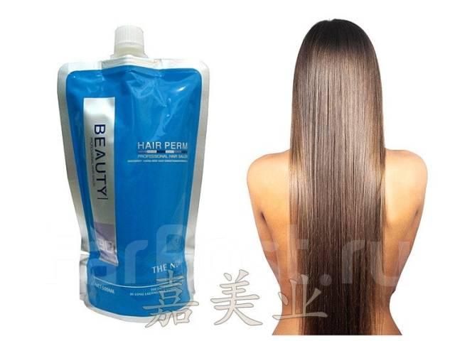 Маска для волос для выпрямления