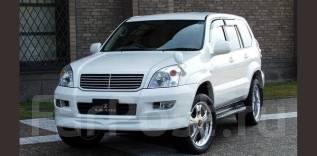 Накладка на бампер. Toyota Land Cruiser Prado, VZJ95, GRJ151W, VZJ121W, TRJ150W, TRJ12, VZJ90W, TRJ125W, KDJ120, VZJ95W, GRJ120W, GRJ150L, GRJ125W, RZ...
