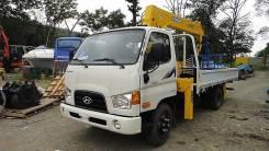 Hyundai HD78. Продам грузовик бортовой с манипулятором Hyundai E-Mighty (HD78) Новый, 3 907куб. см., 4 500кг.