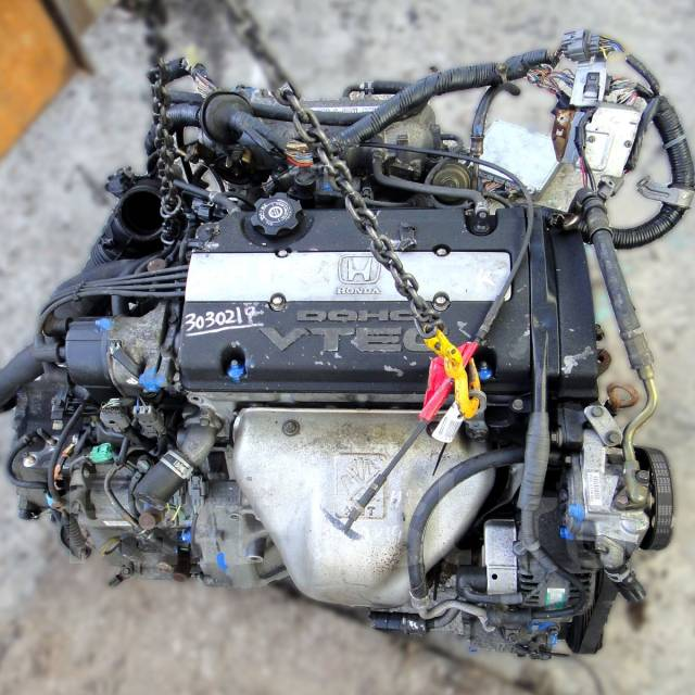 Контрактный б/у двигатель H22A на Honda