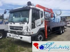 Daewoo Novus. Бортовой грузовик c Kanglim1256, 11 050 куб. см., 15 000 кг.