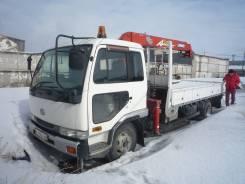 Nissan Diesel. Бортовой манипулятор , 6 925 куб. см., 5 000 кг., 7 500 м.