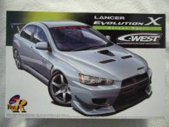 Cборную модель Mitsubishi Lancer Evolution X C-WEST! Япония!