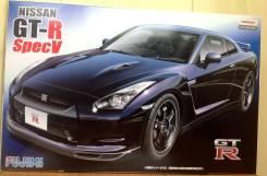 Сборная модель Nissan GT-R R35 Spec V. +Подарок!