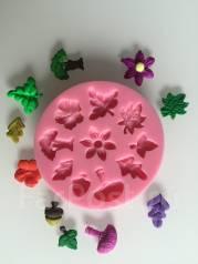 Силиконовая форма для работы с полимерной глиной