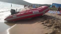 Продам лодку с мотором. Год: 2007 год, длина 3,30м., двигатель подвесной, 18,00л.с., бензин