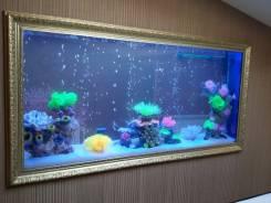Изготовление аквариумов, террариумов. Под заказ