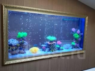 Тумбы, аквариумы, террариумы на заказ. Оформление аквариумов. Под заказ