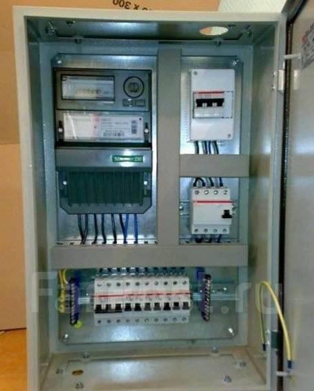 Электрика установка автоматов