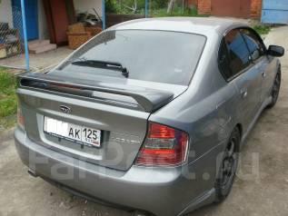 Спойлер. Subaru Legacy, BL, BL5, BL9, BLE, BP, BP5, BP9, BPE, BPH. Под заказ