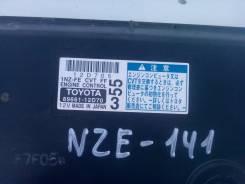 Блок управления двс. Toyota Corolla Fielder, NZE141 Двигатели: 1NZFXE, 1NZFE, 1NZ FE