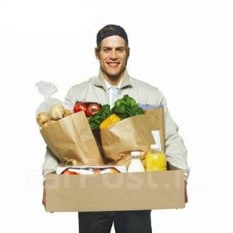 Курьер по доставки еды