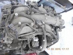 Головка блока цилиндров. Mitsubishi Pajero Двигатель 6G74