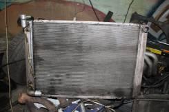 Радиатор охлаждения двигателя. Lexus RX330 Двигатель 3MZFE