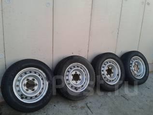 Комплект колес 175 75 R15 LT грузовая остаток 70%. 7.5x15 6x139.70