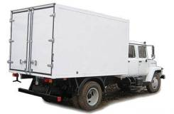 "ГАЗ 3309. Фургон ""Газон"" с двухрядной кабиной, 4х2, 4 700куб. см., 4 000кг."