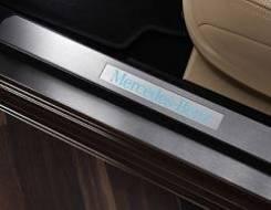 Накладка на порог. Mercedes-Benz S-Class, W221