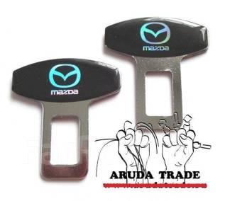 Заглушка ремня безопасности. Mazda
