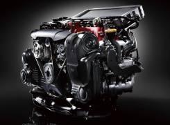 Двигатель в сборе. Subaru: Legacy B4, Outback, Legacy, Forester, Legacy Wagon Двигатель EJ25