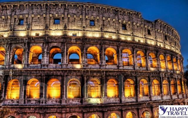 Италия. Римини / Анкона – Венеция – Рим – Ватикан – Неаполь – Помпеи – Флоренция – Сиена – Пиза – Римини / Анкона. Экскурсионный тур. Италия Романтика