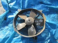 Вентилятор радиатора кондиционера. Toyota Celica, ST185 Двигатель 3SGTE