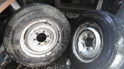 Шины Bridgestone 195/80R15 LT с штамповками. x15 6x139.70 ЦО 105,0мм.