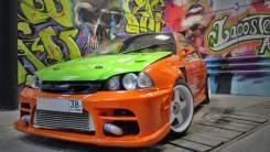 Обвес кузова аэродинамический. Toyota Caldina