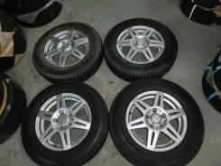 Продается комплект литых дисков Bridgestone CV-201 R15 #1070. 5.0x15, 5x114.30, ET48