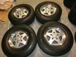 Продается комплект литых дисков Bridgestone CV928 R16 #1092. 8.0x16, 5x150.00, ET45