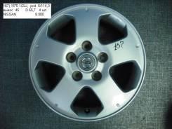 Nissan. 5.5x15, 5x114.30, ET45, ЦО 65,7мм.
