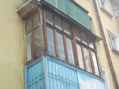 Рамы балконные деревянные со стеклом,4 секции.