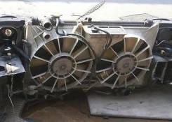 Радиатор охлаждения двигателя. Toyota Aristo, JZS160, 160 Двигатель 2JZGE